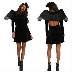 {Hot Topic} Dark Angel Wing Set Kit Costume